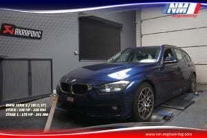 STAGE 1 BMW SERIE 3 18i 1.5T 136 CV 220 NM 175 CV 241 NM NM Engineering