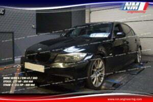 STAGE 1 BMW SERIE 3 E90 LCi 20D 177 CV 350 NM 211 CV 448 NM NM Engineering