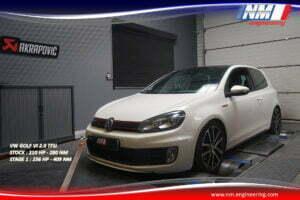 STAGE 1 VW GOLF VI 2.0 TFSi 210 CV 280 NM 256 CV 409 NM NM Engineering