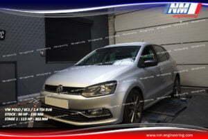 STAGE 1 VW POLO 6C1 1.4 TDi EU6 90 CV 230 NM 115 CV 302 NM NM Engineering